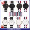 Yxl-009 새로운 석영 형식 주문 로고 시계 남자 손목 시계 나일론 결박 호화스러운 상표 로즈 금 좋은 품질 시계