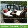Mobília de vime ao ar livre da sala de estar de Sun para o jardim