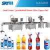 Petit prix de machine de remplissage de bouteilles de l'eau linéaire