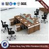 Prix usine L cloison de bureau de poste de travail de forme (HX-CRV005)