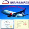 Het Handvat van de Verzending van de lucht van Shenzhen/Shanghai/Hongkong/Peking van China Antwerpen, België