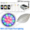 16W Colorful  Lampada controllabile dell'indicatore luminoso rf LED PAR56 del raggruppamento del LED