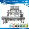 Máquina de enchimento de engarrafamento engarrafada do alimento do suco da água líquido automático
