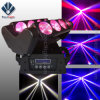 8 diodo emissor de luz Beam Spider Effect Light do olho RGBW 4in1
