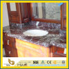 Rosso Levanto Marble Vanity Top for Bathroom