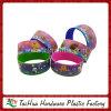 Bracelet coloré de silicone de transfert de chaleur de mode (TH-HT004)
