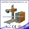 Tipo de escritorio máquina económica de la aguafuerte del laser de la fibra 30W para los tornillos