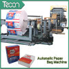 Bag di carta Making Machine con 4 Colors Printing in Line