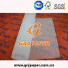 Vente en gros transparente de papier de cellophane de taille de roulis