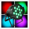 Disco-Licht der Cer RoHS Bescheinigung-12X18W Rgabwuv 6in1