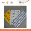 Escritura de la etiqueta de encargo auta-adhesivo de la etiqueta engomada Paper/PVC de la impresión del código de Qr