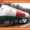 Acoplado estándar del tanque del acoplado 50cbm LPG del tanque de ASME LPG