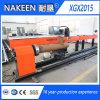 Gaz de commande numérique par ordinateur/coupeur gyroscopiques de plasma d'usine de Nakeen