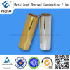 Gold&Silver Plastic Film per Food Package Printing