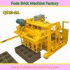 Piccola macchina mobile del blocco in calcestruzzo di stenditura dell'uovo di Qt40-3A