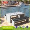 Muebles del jardín, vector de cena y silla (DH-5350)