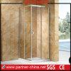 Duas portas elegantes modernas que deslizam o cerco quadrado do chuveiro (GL1142)