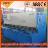 QC12y-8X4000mm Machine de Om metaal te snijden van het Staal/Scherende Machine