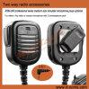 Microphone professionnel de haut-parleur d'épaule de haut-parleurs par radio bi-directionnels