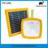 Radio solar con iluminación LED y cargador de teléfono móvil
