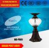 Energiesparende Cer RoHS CQC Bescheinigung-Solarpfosten-Licht