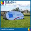 Impreso a todo color de pop una bandera del marco para Eventos