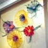 Het glas Geblazen Lichte Decoratieve Art. van de Lamp van de Plaat