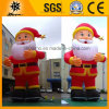 Riesige 10m Inflatable Christmas Decoration Weihnachtsmann (BMCT43)