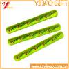 Personifizierter gedruckter Firmenzeichen-reflektierender KlapsWristband (YB-SL-03)