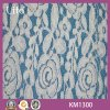 Beau Flower Cotton et Nylon Lace Fabric pour Garment
