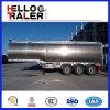 3 remorque en aluminium de réservoir de l'essieu 42000L avec la suspension de sac d'air
