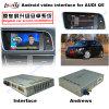 Navegador video Android da relação do sistema GPS dos multimédios HD do melhoramento do carro para Q5 a sustentação DVD/TV/Mirrorlink