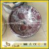 Rosso Levanto Marble Vanity Basin pour Bathroom ou Toilet
