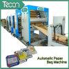 Papier d'emballage entraîné par un moteur électrique complètement automatique avancé faisant la machine (ZT9804 et HD4913)