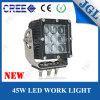 9-60V carro resistente del tractor de la luz 45W del trabajo del CREE LED