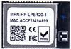 802.11b/G/N Wi-FI Module Support Work als Sta/Ap Mode Lpb120