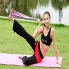 Faixa pesada da aptidão do exercício do músculo do estiramento da resistência da ioga dos produtos do esporte