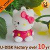 Hello Kitty PVC Cartoon USB Flash Drive (YT-6433-23)