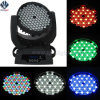 Club 108 3W RGBW LED Efeito Moving Head Lighting