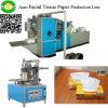 Tipo automático cadena de la máquina del tejido facial de producción del papel de tejido