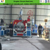 HDPEのポリエチレンのKrahの下水の波形の管の製造業の押出機機械
