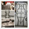 plastique chaud de qualité de la vente 2015 de 6ft/1.8m se pliant dans demi de Tableau, Tableau de banquet, Tableau dinant, Tableau de pliage de soufflage de corps creux, meubles extérieurs légers