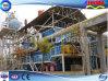 Edificio pesado prefabricado de la estructura de acero de la alta subida para la fábrica de productos químicos (FLM-B-007)