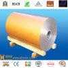 Color vendedor caliente Arrollar-PVDF-Champán revestido de aluminio