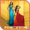 Women maduro Sexy Maxi Evening Dress com um Train (S007-24)