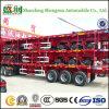 Semi Aanhangwagen van de Vrachtwagen van de Container van de Opschorting van het luchtkussen of Van het Koolstofstaal Flatbed