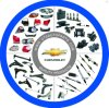 Piezas de repuesto Piezas de coches Auto Parts para Chevrolet