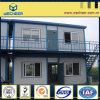 O recipiente Prefab Certificated BV do baixo custo abriga a unidade modular da casa