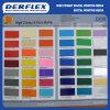 Signe adhésif de couleur préparant le vinyle de découpage