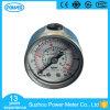 indicateur de pression bon marché de caisse d'acier inoxydable des prix de 40mm